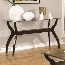 Glass Sofa Table Modern Glass Sofa Table Aifaresidency