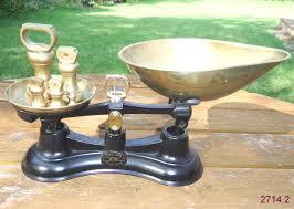 Vintage Kitchen Scales Vintage Black Salter No 56 Kitchen Weighing Scales Inluding