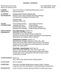 Resume Profile Examples For College Students by 925 Best Example Resume Cv Images On Pinterest Communication