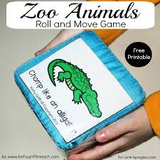 zoo animals roll and move game zoo animals zoos and animals