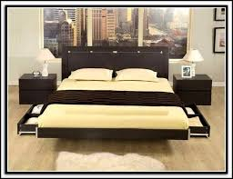 Diy King Size Platform Bed by King Size Platform Bed With Storage Diy Bedroom Home