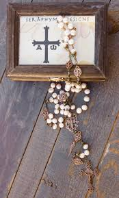 wedding rosary the wedding heirloom rosary of and devotion seraphym