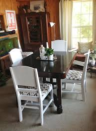 furniture how to refinish a dining room table with black round