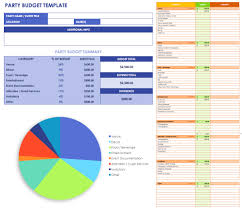 Rental Spreadsheet Template Free Event Budget Templates Smartsheet