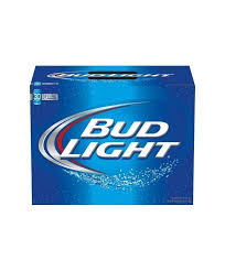 how much is a 30 pack of bud light lagers tagged cans liquornmore