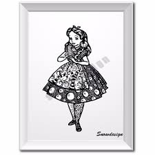 alice and wonderland home decor online get cheap alice wonderland pictures aliexpress com