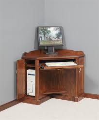 corner computer desk for small spaces elegant oak corner computer desks 12580 corner computer cabinet