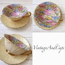255 best china shelley chintz images on pinterest tea cup