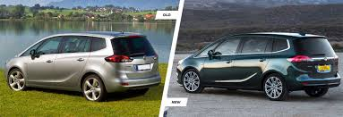 opel zafira interior vauxhall zafira tourer old vs new compared carwow