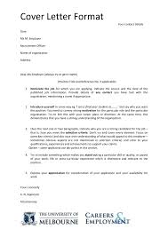 application letter format how to write an application letter