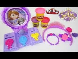 Vanity Playset Play Doh Sofia The First Amulet U0026 Jewels Vanity Playset Disney