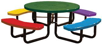 leisure craft picnic tables leisure craft inc 46 children s round table