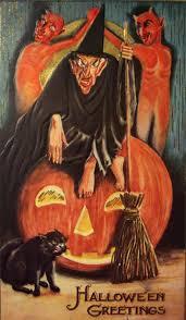 87 best vintage halloween art images on pinterest halloween