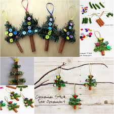 wonderful diy cinnamon stick tree ornaments