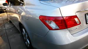 jdm lexus es 350 lexus es 350 exhaust clip walk around youtube