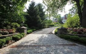 pictures of driveway entrances summit nj landscape design