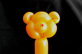 how to make a teddy bear balloon animal