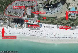 Florida Map Beaches by Find Your Perfect Beach In Destin Florida The Good Life Destin