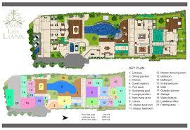 Villa Floor Plan by Floorplan Lataliana Villa I Lataliana Villas Luxury Villas For