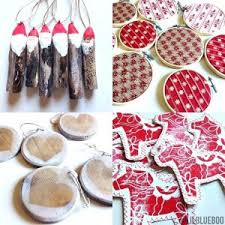 country tree ornaments to make easy country