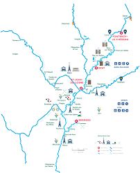 Map Of Burgundy France by H2olidays Different Regions For Boating Vacations In France