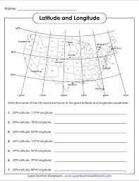 best ideas of fourth grade geography worksheets with template