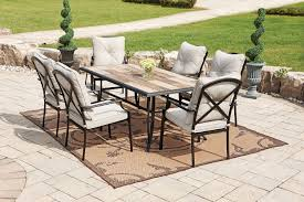 Rustic Patio Furniture by Patio Interesting Patio Set Walmart Frontgate Outdoor Furniture
