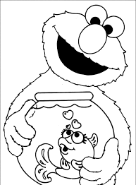 coloring page coloring pages elmo with alphabet blocks page