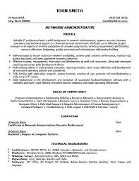 Resume Format For Admin Jobs by Free Download Network Administrator Resume Format Sample For Job