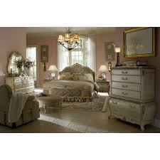 White Queen Size Bedroom Suites Michael Amini Lavelle Blanc 4pc Queen Size Mansion Tufted Bedroom