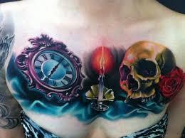 70 stunning skull tattoos on chest