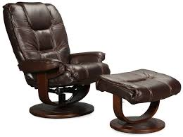 Gaming Chair Ottoman by Birchfield Chair And Ottoman Brown Levin Furniture