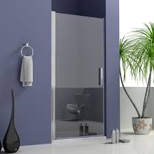 Shower Doors 1000mm by Frameless Pivot Shower Door Walk In Glass Screen Reversible 700