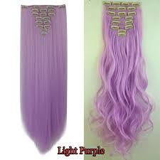 purple hair extensions 100 remy hair clip in ins hair extensions as
