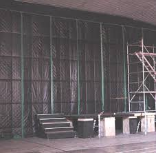 Sound Barrier Curtain Soundproof Curtains For Industrial Use