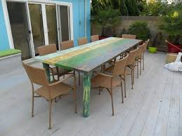 Outdoor Furniture Made From Recycled Materials by 25 Best Dining Table Images On Pinterest Reclaimed Wood Dining