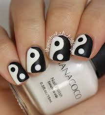 100 black and white nail art designs ideas that you will love