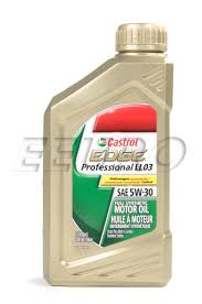 g0521951l genuine vw engine oil 5w30 1 quart professional