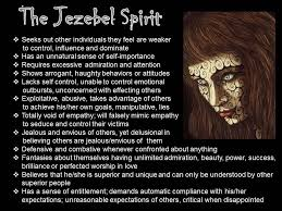 discerning the jezebel spirit