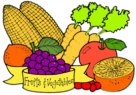 fruit and vegetable basket fruits and vegetables clipart clipartxtras