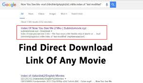 how to find direct download link of any movie 2017
