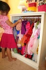 Closet Penteadeira Para Meninas Dress Up Station