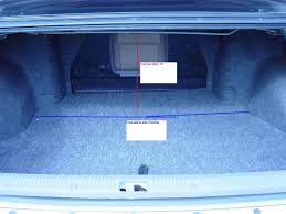 nissan maxima boot space trunk space for a 15 4th gen maxima forums
