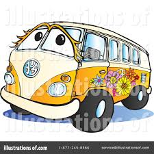 hippie van drawing hippie bus clipart clipartxtras