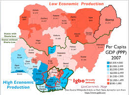 Nigeria Is Located On The World Map Around The by Echoes Of Biafra Geographical Patterns In Nigeria U0027s 2015 Election