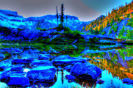 Lakes lake washington blue scenic mountains trees nature beauty