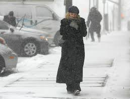 a wind driven winter storm brought blizzard conditions to cape cod