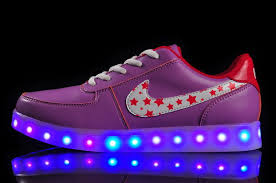 Nike Light Womens Nike Light Up Shoes Purple 36 39 Low Cost Nike Light Up Shoes