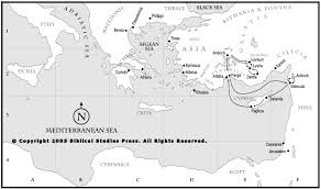 Blank Ancient Rome Map by Net Bible Maps Bible Org