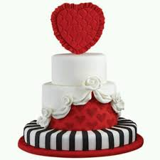 131 best love valentines fondant cakes images on pinterest